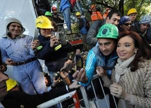 Tras procesamiento de Boudou, CFK no habló del tema. Al menos, ¿una selfie con su vice?