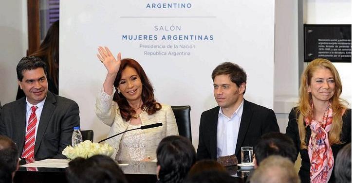 CFK y Giorgi Procreauto