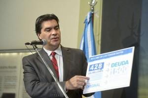 Fondos Buitre: Capitanich, Kicillof y Zannini al Congreso de la Nación por mandato de CFK