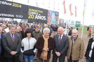 En Agroactiva, De la Sota reiteró sus críticas al gobierno K y destacó acuerdo con Afamac