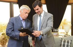 """Dos peronistas """"presidenciables"""" se reunieron para dialogar sobre situación económica"""