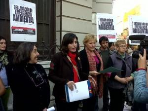"""El Frente de Izquierda repudió """"campaña"""" de difamación"""