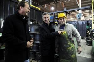 """En campaña: Macri apostó por la cultura del trabajo y por un gobierno que """"no moleste"""""""