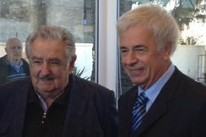 En plena reactivación del conflicto por la papelera, De la Sota se reunió con Mujica y pidió unidad en el Mercosur