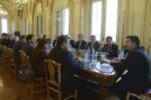 Encuentro del Foro de intendentes radicales y Capitanich para avanzar en temas de gestión