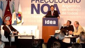 Urtubey y De la Sota en el Precoloquio de Idea Región NOA