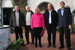 Presidenciables del FAU buscan instalarse en el Conurbano y principales centros urbanos