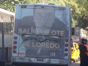 Riutorismo demandó explicaciones al DEM por publicidad en el transporte público