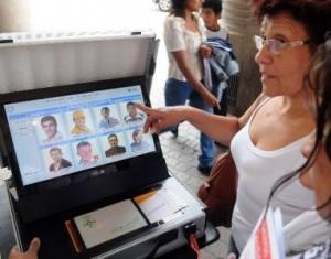 voto electronico todos los candidatos