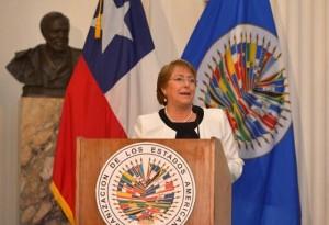 Bachelet OEA