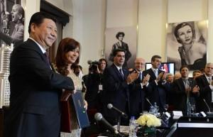 CFK con presidente chino