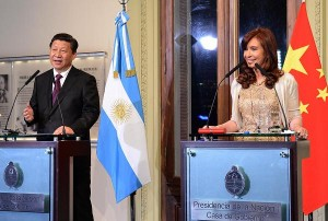 CFK con presidente chino conferencia