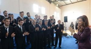 Pos mundial: CFK recibió a la selección y hoy viaja a la cumbre de presidentes del BRICS