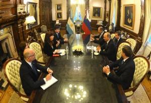 """Putin en Argentina: CFK y su par ruso coincidieron en destacar que la relación """"es estratégica"""""""