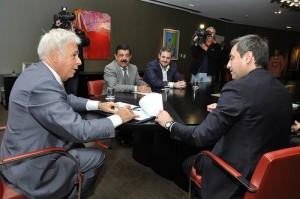 Reunión pos mundial entre De la Sota y Mestre: $30 millones para obras en la ciudad