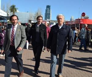 Presidenciable rumbo al 2015: De la Sota se mostró en escenario ruralista