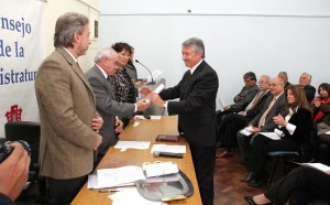 Nuevos miembros del Consejo de la Magistratura