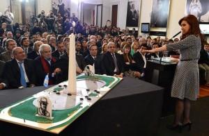 En homenaje a Perón e Yrigoyen, CFK con duro mensaje al Poder Judicial