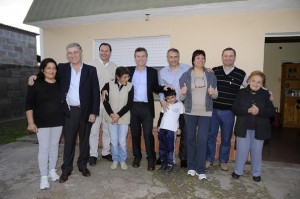 Alianza PRO y UCR: Macri presentó a sus candidatos junto a Aguad