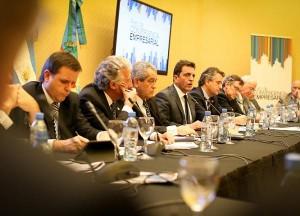 Massa de buen diálogo con empresarios, destacó «políticas de futuro»