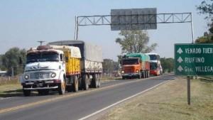 camiones en ruta