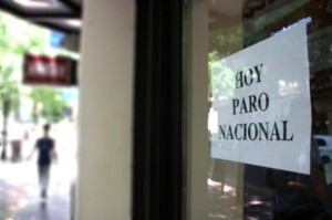 Tras rechazar conciliación obligatoria, bancarios deciden continuar afectando a la gente
