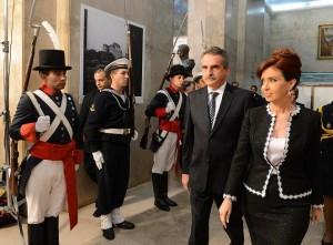 """CFK: """"La dignidad de la Nación se defiende en todos los frentes"""""""