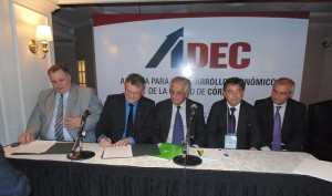 Convenio con intendentes y sector cooperativo de Brasil