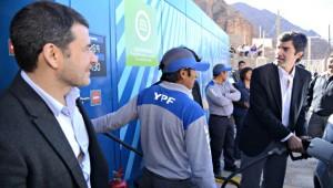 Galuccio inauguró en Iruya un nuevo Módulo de Abastecimiento Social