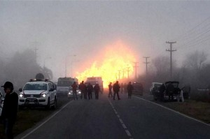 explosión gas central pilar