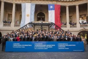 Capiatnich y la VI Reunión Binacional de Ministros Argentina-Chile