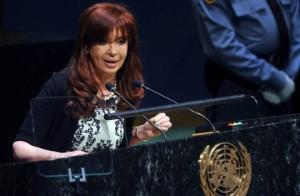 """Fondos Buitres: Para CFK, son """"verdaderos desestabilizadores de la economía"""""""