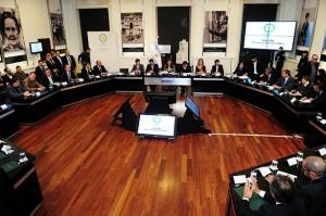 CFK con empresarios automotrices Telam