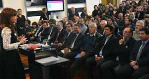 CFK proyecto audiovisual isla demarchi y otros