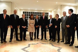 CFK y gobernadores Hidrocarburos