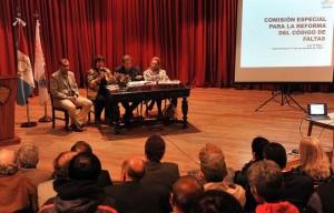 Organizaciones del este provincial expusieron sus posturas sobre la reforma del Código de Faltas