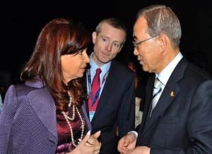 Tras su encuentro con el Papa, CFK arribó a Nueva York con agenda en la ONU