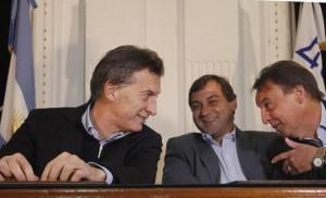 Macri y Jure
