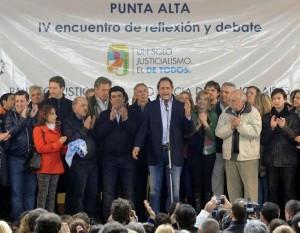 Scioli en Punta Alta encuentro politico