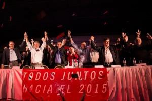 Rumbo al 2015: Muestra de unidad radical en festejo mestrista