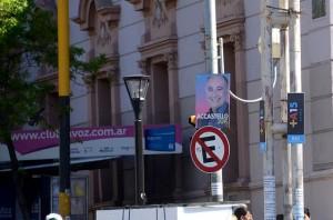 Vía Pública: Municipio multó a fuerzas políticas por colocar propaganda partidaria