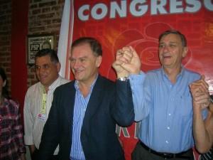 """Socialismo insistió en armado de UNEN (centroizquierda) en base a """"programa progresista y popular"""""""