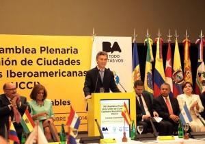 Ciudades Capitales: Mauricio Macri exhortó a reforzar el compromiso con la agenda verde