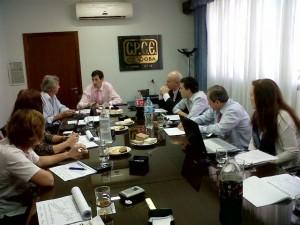 reunión comisión CPCE con periodistas