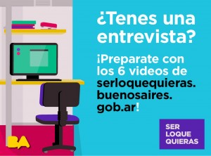 """Formación y Empleo: """"Ser lo que quieras"""" sitio web para jóvenes"""