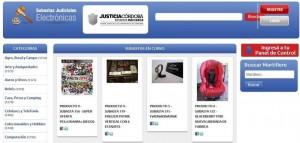 Justicia cordobesa pone en marcha las subastas electrónicas