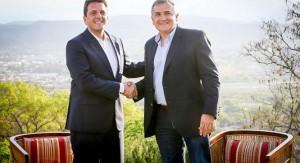 En visita al norte del país, Massa se mostró junto a Gerardo Morales