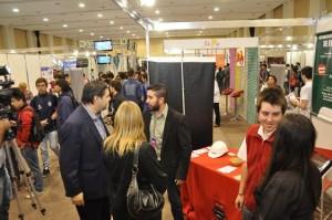 Se puso en marcha la Expo Estudiar y Trabajar en Córdoba