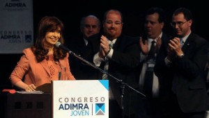 CFK en congreso adimra