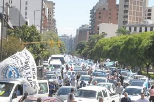 Inflación: Con Caravana, la CGT reclamó por renegociación de salarios